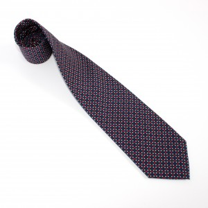 Silk Tie Made in Italy by Collari. Luxury printed silk