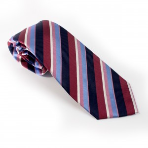 Silk Tie Made in Italy by Collari. Luxury 7-fold Tie.
